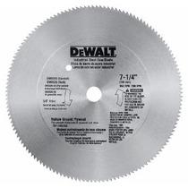 Disco Sierra Circular Dewalt P/plastico Melamina 7 1/4 140d