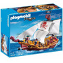 Barco Pirata Playmobil Grande 5618 74pc 3 Muñecos Y Acces.