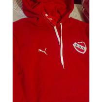 Buzos Independiente Puma De Algodon Canguro