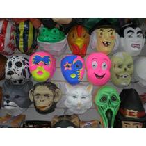 Caretas Y Mascaras Plas.- Pack X 10 -cotillon-gorros-vinchas