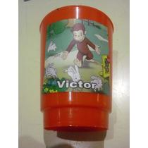Vasos Plasticos Personalizados Mono Jorge Curioso George 10u