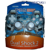 Joystick Analogico Transparente Con Luces Playstation 2