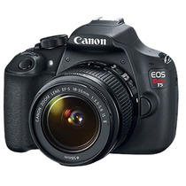 Camara Canon Eos Rebel T5 18mpx 18-55 Full Hd + Memoria 8gb