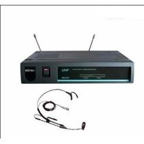 Microfonos Inalambricos Vincha Uhf Mipro Mr-801a- Fervanero