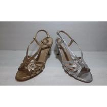 Sandalia Fiesta Vestir Taco Zapato De Mujer
