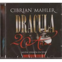 Dracula 20 Años En Vivo (2 Cd) 1991-2011 Cibrian - Mahler