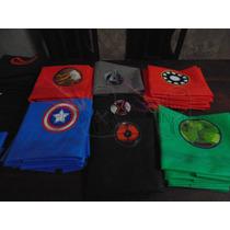 Capas Vengadores,america,sofia,hombre Araña,hulk,thor Etc