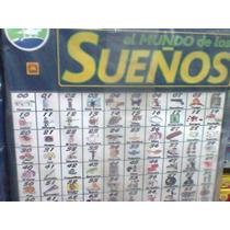 Cartel Sueños Para Quiniela ,nombres,oficios