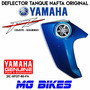 Deflector Tanque Nafta Yamaha Fz 16 Celeste Izq Mg Bikes