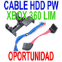 Cable Original Hdd/pw Bandeja Xbox360 Slim Garantia