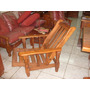 Sillon De 1 Cpo Reclinable De Algarrobo