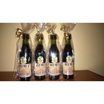Souvenir Mini Fernet Branca Personalizado 25 Unid