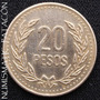 Moneda De Colombia 20 Pesos 1990 - Excelente