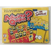 Juego Adivina Quien Simpsons Hasbro Zap 9775