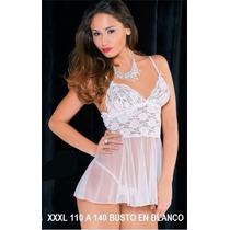 Xxxl 120 A 140 Busto Baby Doll Mujer Gorditas T:especiales