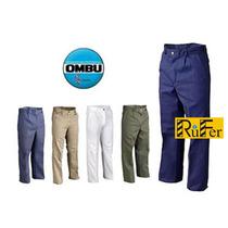 Pantalón De Trabajo Ombú Col. Vs. Talles Especiales