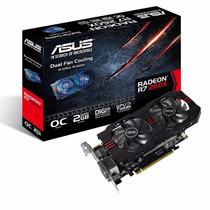 Placa Video Asus Radeon R7 260x Oc 2gb Pci-e Dvi Hdmi