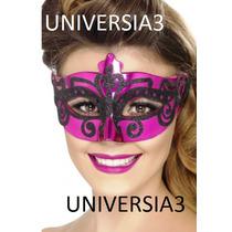 6 Antifaz Mascara Veneciana Careta Cotillon Fiesta Carioca