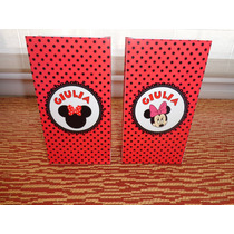 Imprimible Minnie Banderín Bolsitas Candy Bar