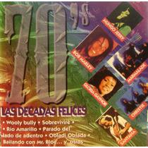 Musica Del Recuerdo Lote De 4 Cd Las Decadas Felices-nos