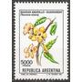 Argentina Flor Guaran Amarillo Mt 1339 Gj 2033 Mint Fluor
