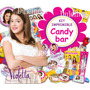 Kit Imprimible Candy Bar Violetta - Textos Editables