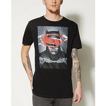 Remera Batman Vs Superman Original Talle Xxl Importada Nueva