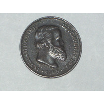Moneda De Brasil. Colonia Portuguesa. Año 1869..