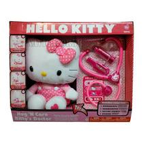 Hello Kitty Peluche Y Set Doctor Interactivo Doctora Medico