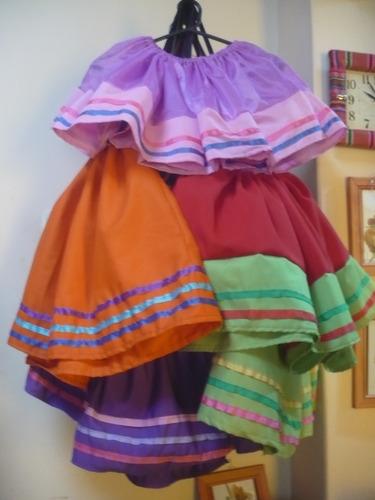 697a047a2 Pollera Coya Carnavalito Niña Folklore Fiesta Patria $400 fzmyf - Precio D  Argentina