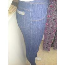 Calzas De Jean Mujer Moda Otoño