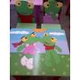 Mesa Sillas Infantiles Pepe Mickey Cars Kitty Princesa Tinke
