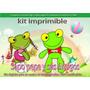 Kit Imprimible Sapo Pepe Y Sus Amigos Tarjetas Cumple Y Mas