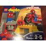 Lego Duplo Marvel Spider-man Web-bike Workshop #10607 Dia De