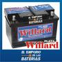 Bateria Willard Plata 12x110 Ub920 Especial Diesel Garantia