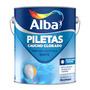 Alba Piletas Caucho Clorado 1 Litro Celeste Profundo Alba