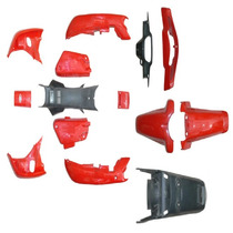 Juego Kit Plasticos Eco 70 / 110 Motomel Original