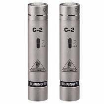 Microfono Condenser Behringer C2 Kit 2 Microfonos