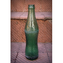 Botella Vidrio Verde Labrada Bidu Cola 260cc Argentina Retro