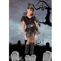 Disfraz Halloween Arañita Completo! Nena Variedad! Jiujim