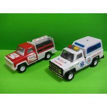 Juguetes Metalicos - Camioneta Con Mecanismos