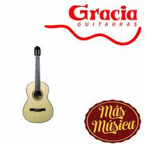 Gracia M9 Guitarra Acustica Natural C/ Funda
