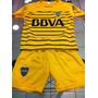 Conjunto 2016 Camiseta Short Amarillo Boca Juniors Niños
