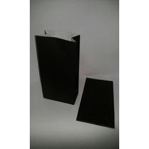Bolsa De Papel Negra Lisas Tipo Sobre Para Souvenier ( X10 )
