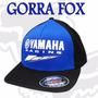 Gorra Fox Original Blue Fox Yamaha Motos Siempre Fas Motos