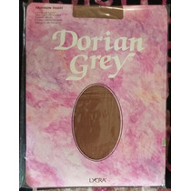 Medias Dama Ultra Opaca Dorian Grey Puntera Semireforzada