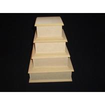 Caja Fibrofacil 8x8x4cm (6 Unidades) Maderarte