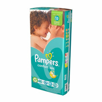 Pañales Pampers Confort Sec Hiperpack G