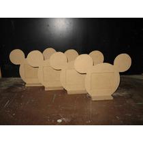 Portaretratos Fibrofacil Mickey Para Foto De 6x5