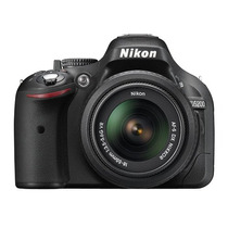 Nikon D5200 Kit 18-55 Vr 24mpx Full Hd - Env S/c Cap! Gtia!!